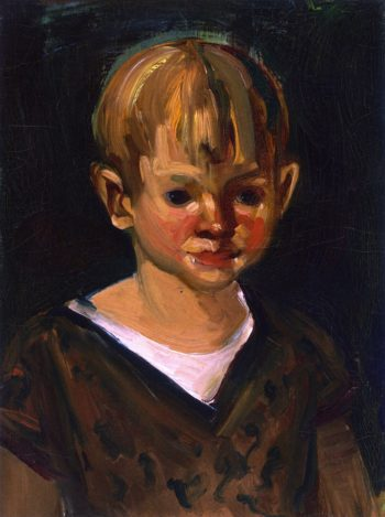 Young Boy | George Benjamin Luks | oil painting