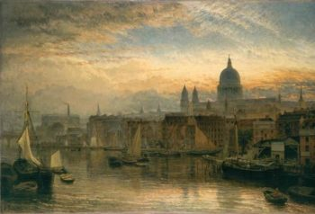 St. Paul's from the River Thames