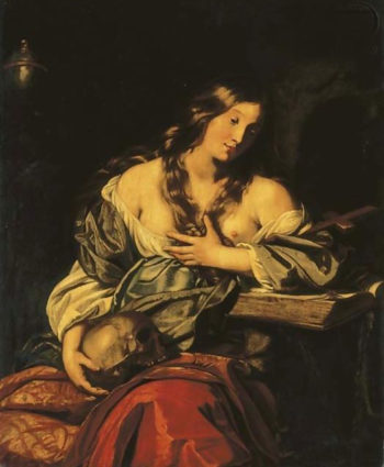 The Penitent Magdalen | Nicolas Regnier | oil painting