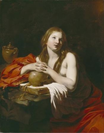 The Penitent Magdalene | Nicolas Regnier | oil painting