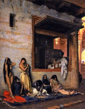 The Slave Market | Jean Leon Gerome | oil painting