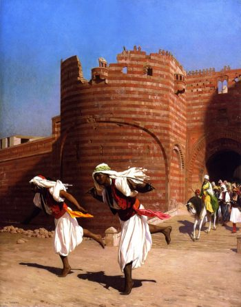 The Runners of the Pasha | Jean Leon Gerome | oil painting
