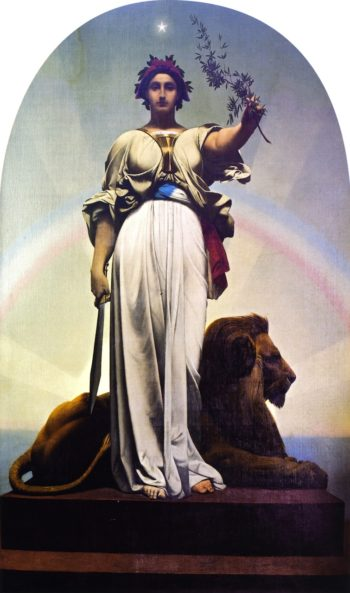The Republic | Jean Leon Gerome | oil painting