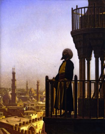 The Call to Prayer | Jean Leon Gerome | oil painting