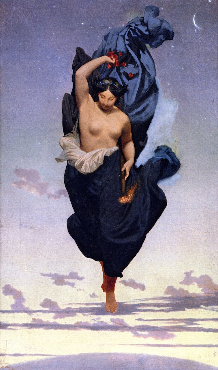 Night | Jean Leon Gerome | oil painting
