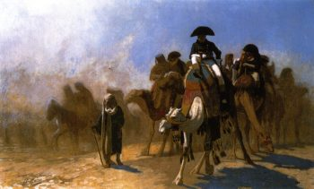 Napoleon and his General Staff in Egypt | Jean Leon Gerome | oil painting
