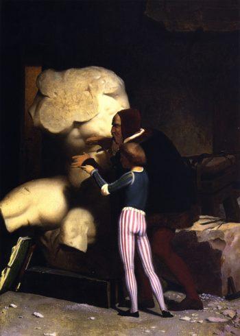 Michelangelo | Jean Leon Gerome | oil painting