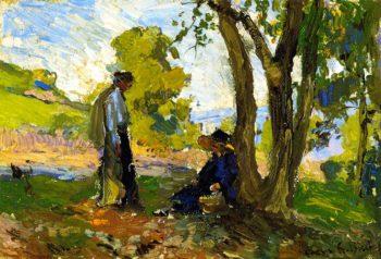Summer Afternoon | Franz Bischoff | oil painting