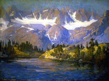 Summit Lake | Franz Bischoff | oil painting