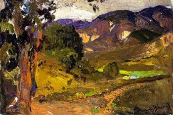 Valley Scene | Franz Bischoff | oil painting