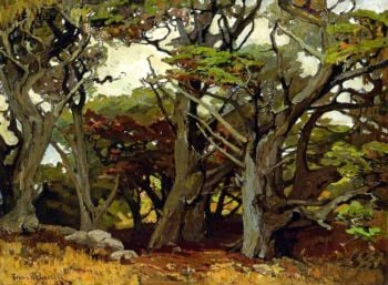 Victores Primeval | Franz Bischoff | oil painting