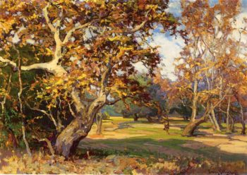 View of the Arroyo Seco from the Artist's Studio | Franz Bischoff | oil painting