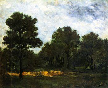 Clearing II | Paul Gauguin | oil painting
