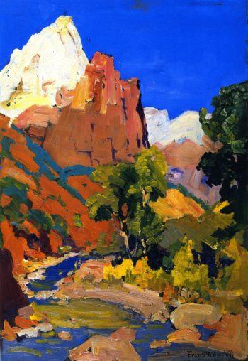 Zion National Park | Franz Bischoff | oil painting