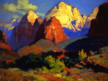 Zion Park | Franz Bischoff | oil painting