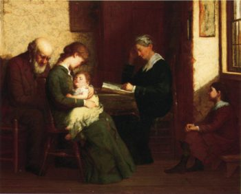 Our Father Who Art in Heaven | George Henry Story | oil painting