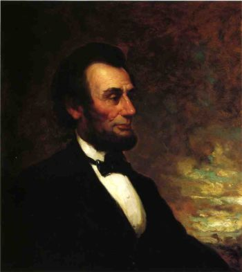 Portrait of Abraham Lincoln | George Henry Story | oil painting