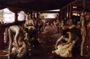 The Golden Fleece | Tom Roberts | oil painting