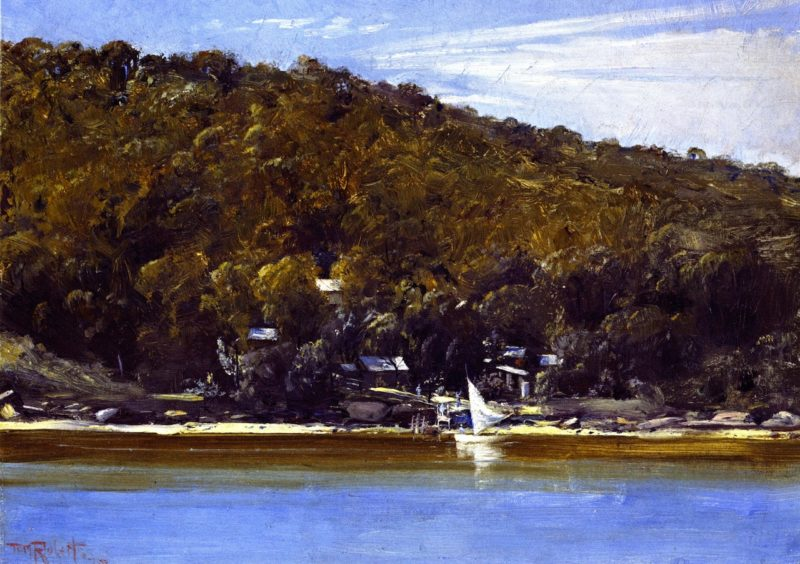 The Camp Sirius Cove | Tom Roberts | oil painting