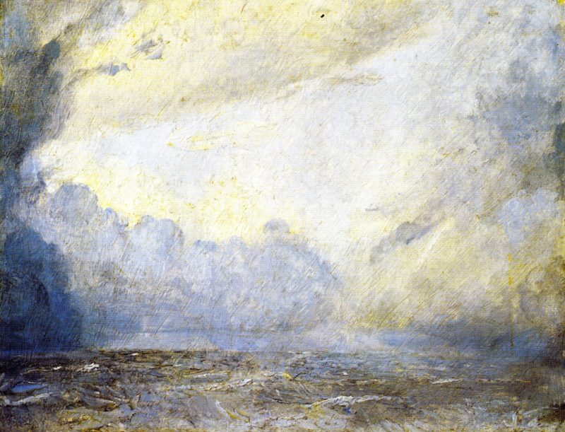 Storm at Sea | Tom Roberts | oil painting