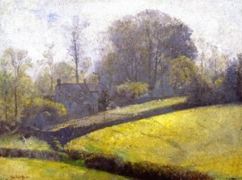 Springtime in Sussex | Tom Roberts | oil painting