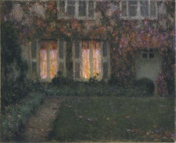 Autumn Twilight | Henri Le Sidaner | oil painting