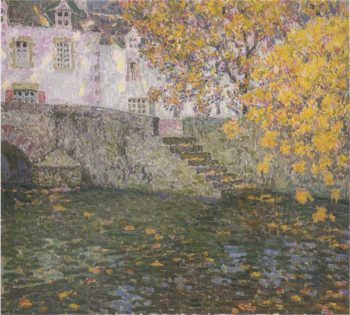 Autumn | Henri Le Sidaner | oil painting