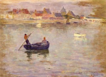 Boat Ride | Henri Le Sidaner | oil painting