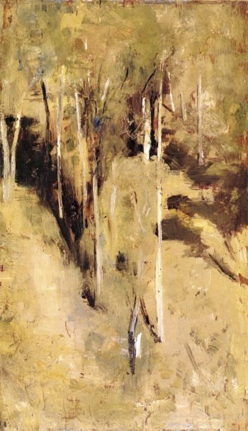 Saplings | Tom Roberts | oil painting