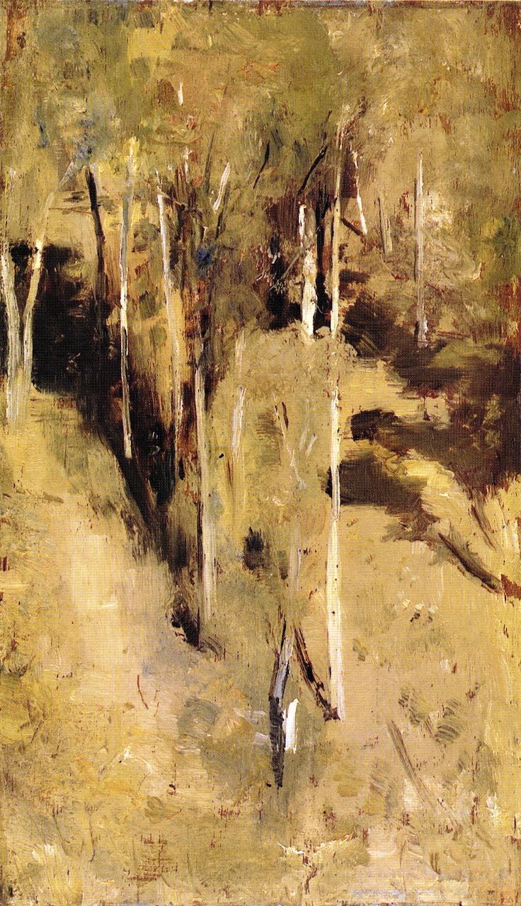 Saplings | Tom Roberts | oil painting
