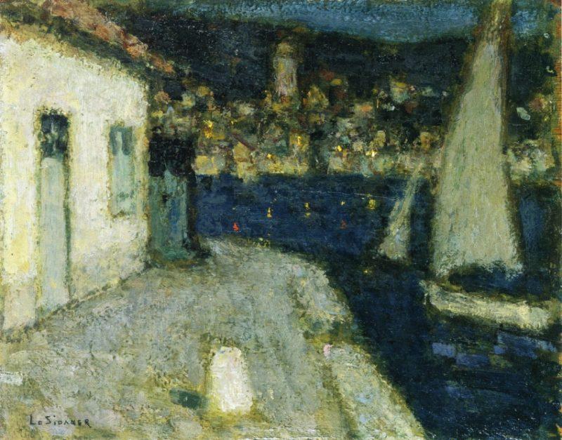 Boats Saint Jean Cap Ferrat | Henri Le Sidaner | oil painting