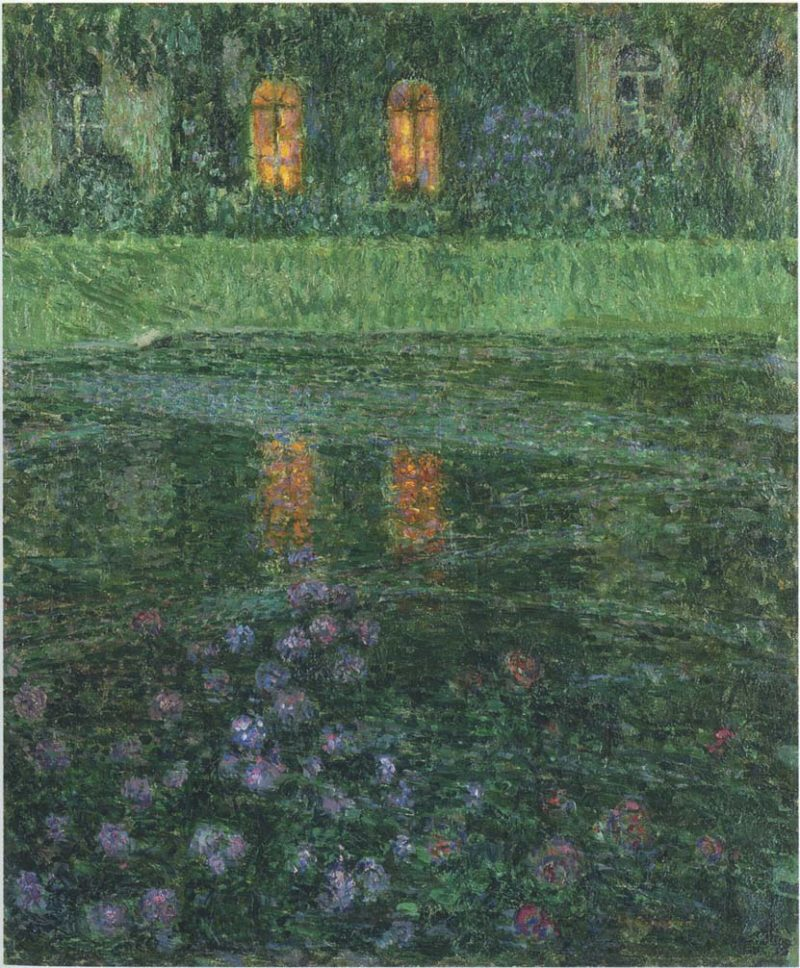 Evening | Henri Le Sidaner | oil painting