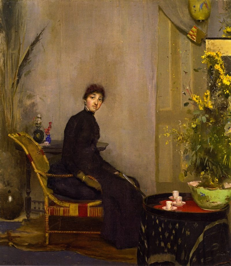 Mrs L A Abrahams | Tom Roberts | oil painting
