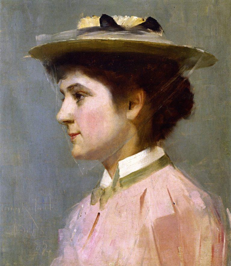 Miss Isobel McDonald | Tom Roberts | oil painting