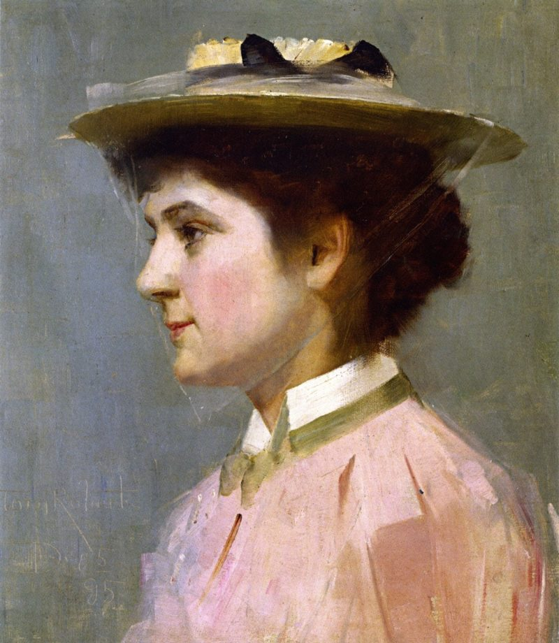 Miss Isobel McDonald | Tom Roberts | oil painting