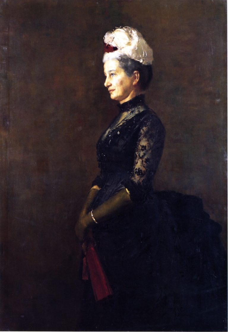 Madame Pfund | Tom Roberts | oil painting