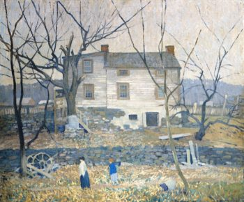 The Gray House | Robert Spencer | oil painting