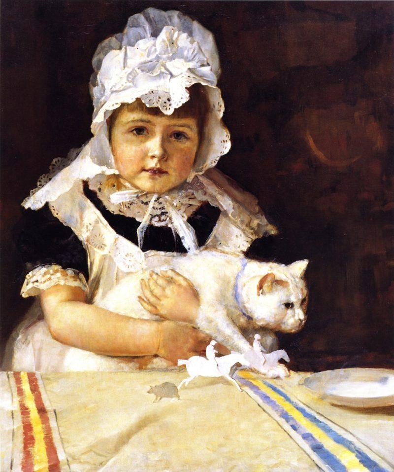 Miss Minna Simpson | Tom Roberts | oil painting