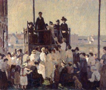 The Evangelist | Robert Spencer | oil painting