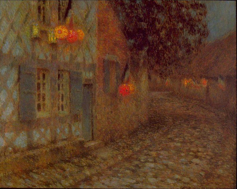 Fourteenth of July | Henri Le Sidaner | oil painting