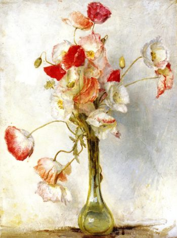 Poppies | Tom Roberts | oil painting