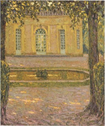 French Pavillion in Versailles | Henri Le Sidaner | oil painting