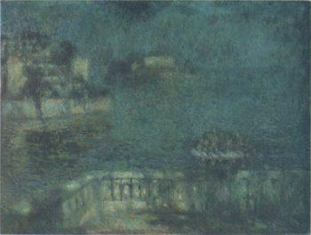 Full Moon | Henri Le Sidaner | oil painting