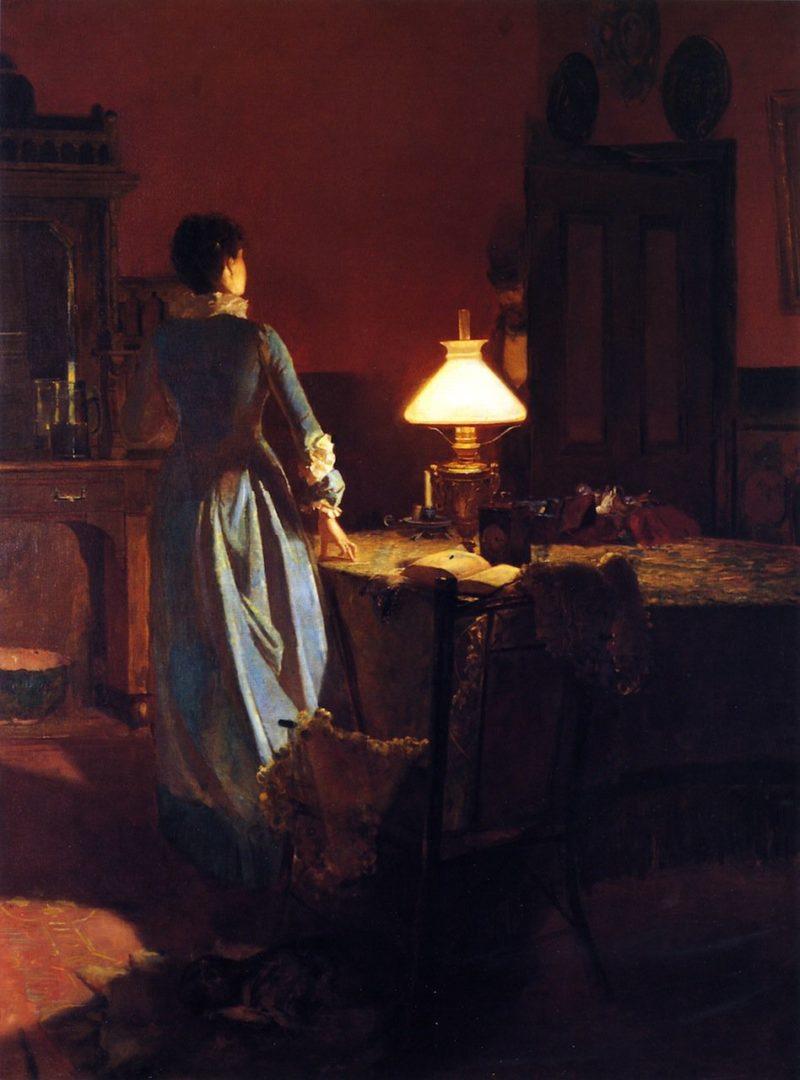 Twenty Minutes Past Three | Tom Roberts | oil painting