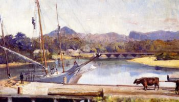 Ulverstone | Tom Roberts | oil painting