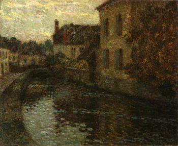 Grey Gables | Henri Le Sidaner | oil painting