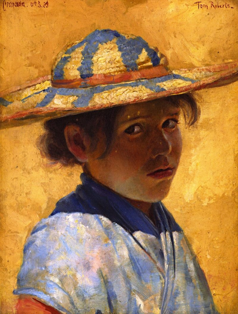 A Girl | Tom Roberts | oil painting