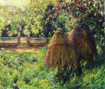 Hives Gerberoy | Henri Le Sidaner | oil painting