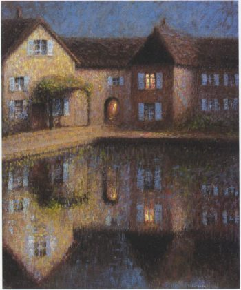 House by the Eau | Henri Le Sidaner | oil painting