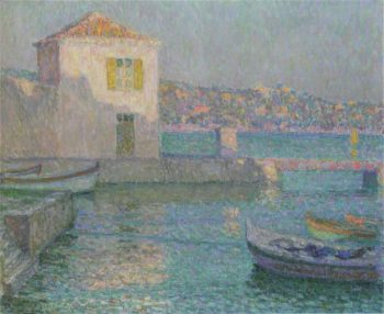 House by the Sea 1 | Henri Le Sidaner | oil painting